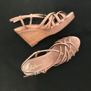 Cole Haan wedge heeled sandal